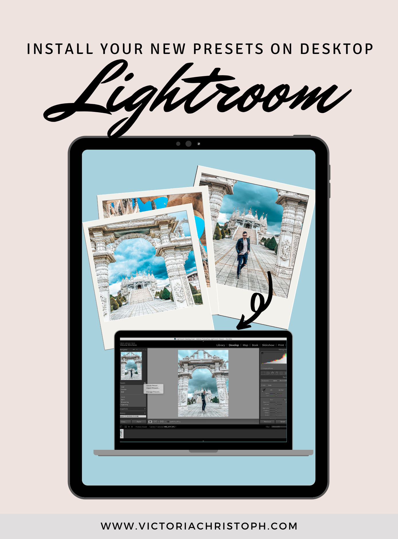 How to Install your New Lightroom Presets on Desktop?