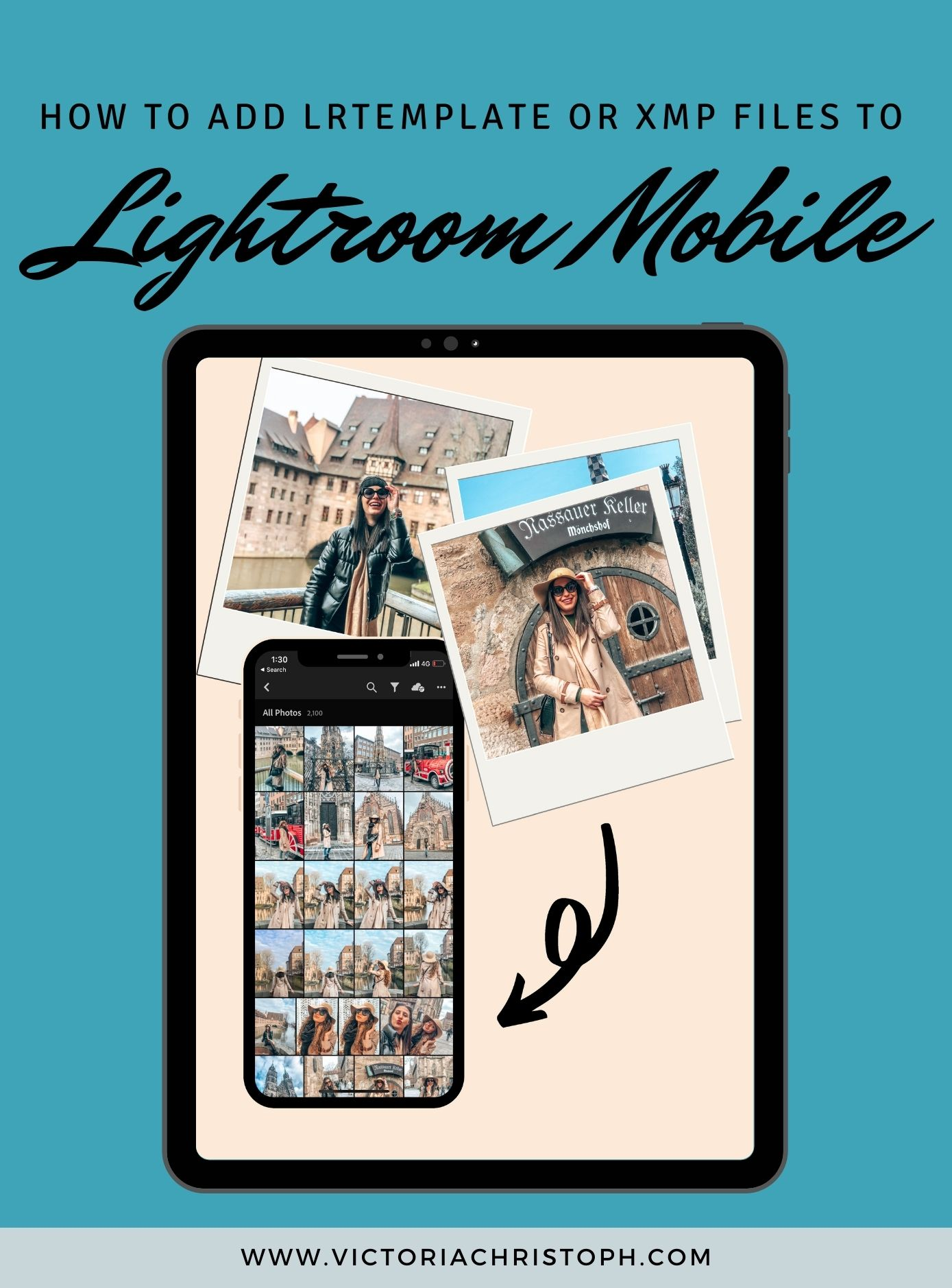 How To Add lrtemplate or XMP Files To Lightroom Mobile?